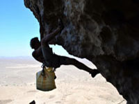 sam climbing in oman